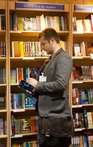 Joe-Ducie-CityofLondonSchool-bookstore
